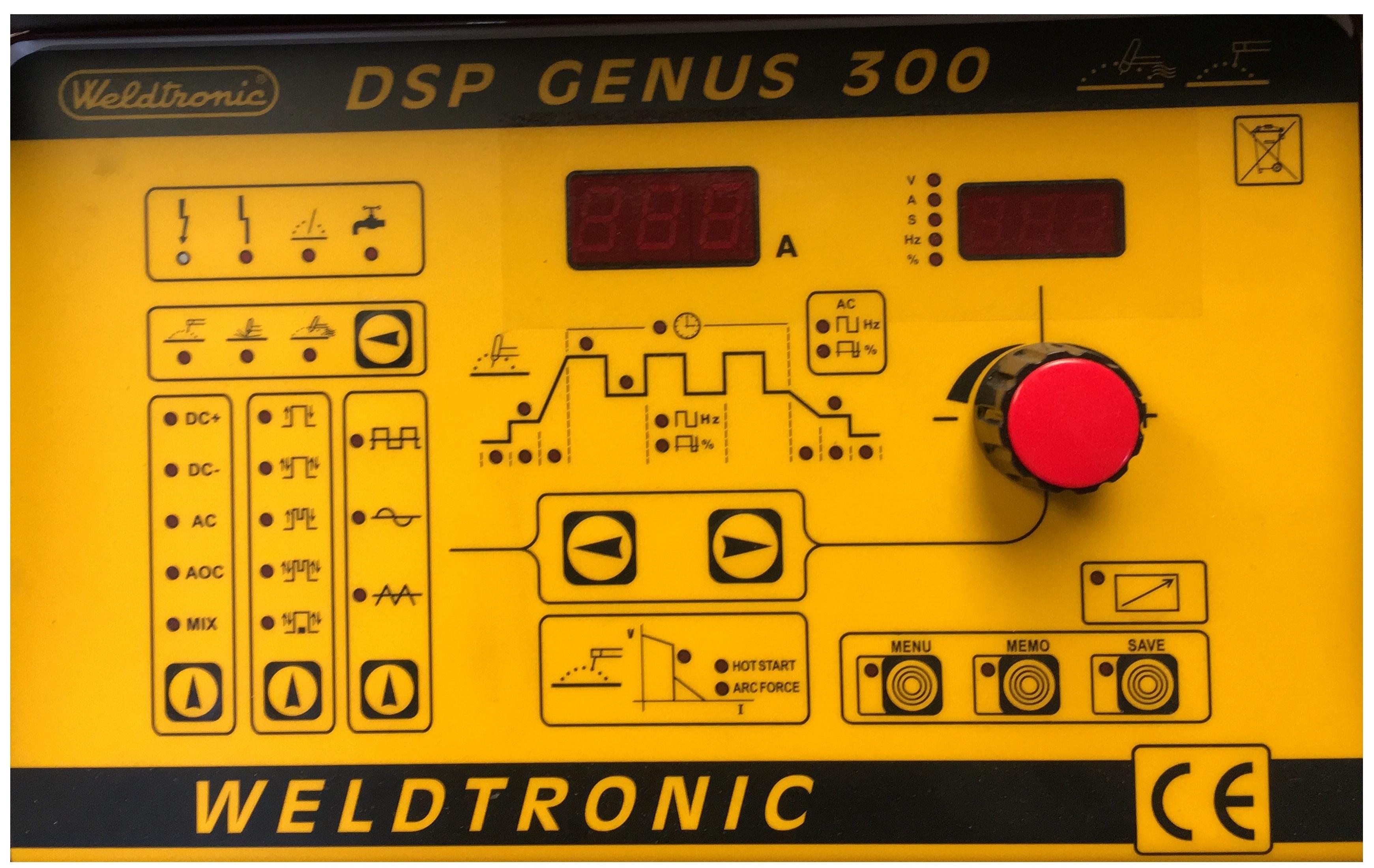 PANNELLO DSP GENUS 300