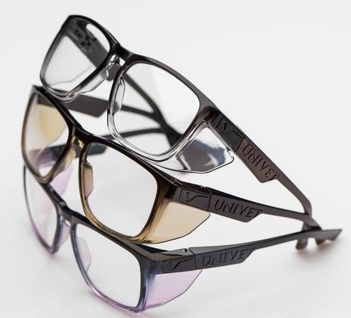 Univet, occhiali saldatura, occhiali saldatura univet, occhiali luce blu, occhio secco, occhiali anti luce blu, lenti antiriflesso, occhiali filtro luce blu, univet occhiali